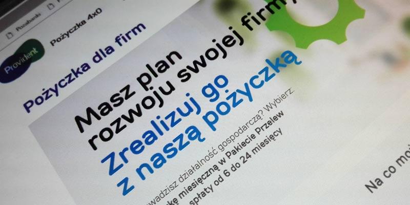 Pożyczka pozabankowa dla jednoosobowej firmy